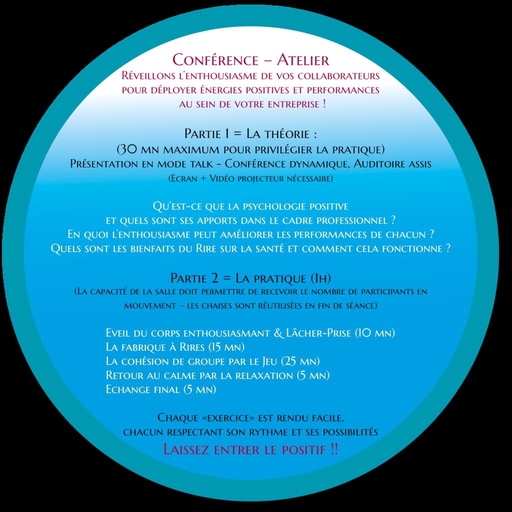 Icone texte Conférence Atelier happyha